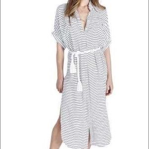 Stripe Maxi Dress with Rope Tie